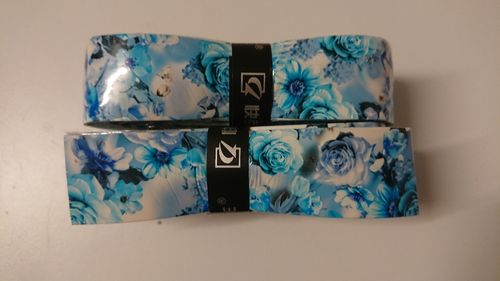Crazy Grips Blue Flowers 2er pack